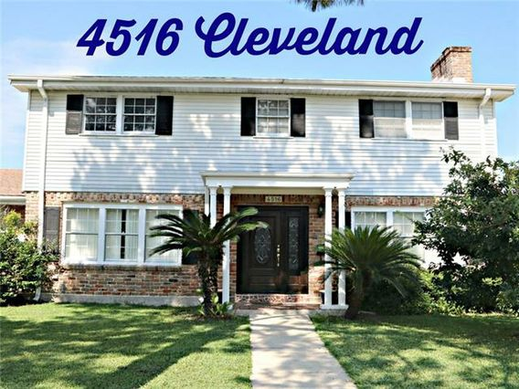4516 CLEVELAND Place Metairie, LA 70003