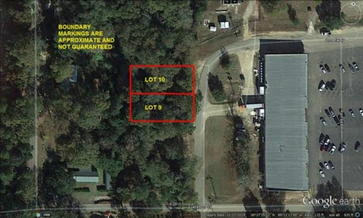 Lot 9 & 10 RAILROAD Avenue Folsom, LA 70437