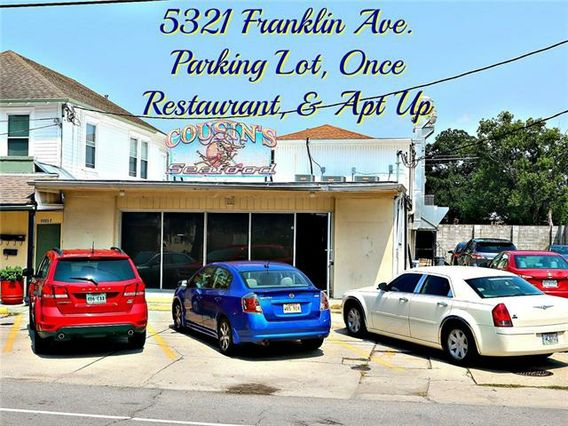 5321 FRANKLIN Avenue New Orleans, LA 70122