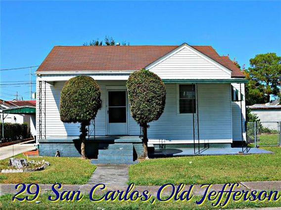 29 SAN CARLOS Avenue Jefferson, LA 70121