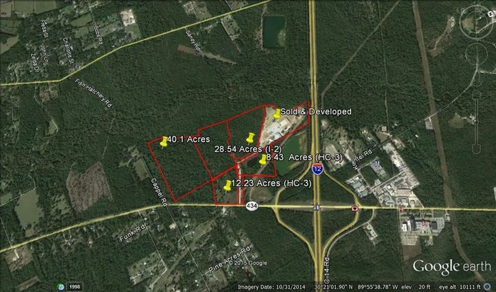 HWY 434 LOT 3 Highway Lacombe, LA 70445