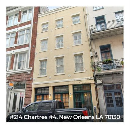 214 CHARTRES Street #4 New Orleans, LA 70130