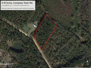 Lot 11 COMPANY TOWN Road Kentwood, LA 70444