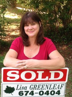 Lisa Greenleaf, Real Estate Agent